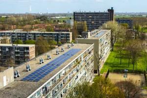 PV-panelen woningcorporaties hoogbouw en laagbouw