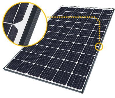 Hoog rendement, krachtig vermogen SolarWorld zonnepanelen